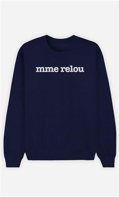 Sweat Bleu Mme Relou