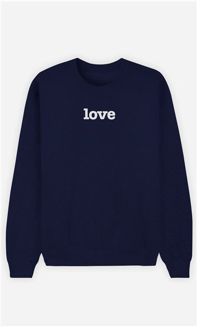 Sweat Bleu Love