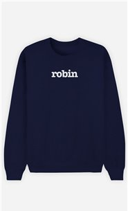 Sweat Bleu Robin