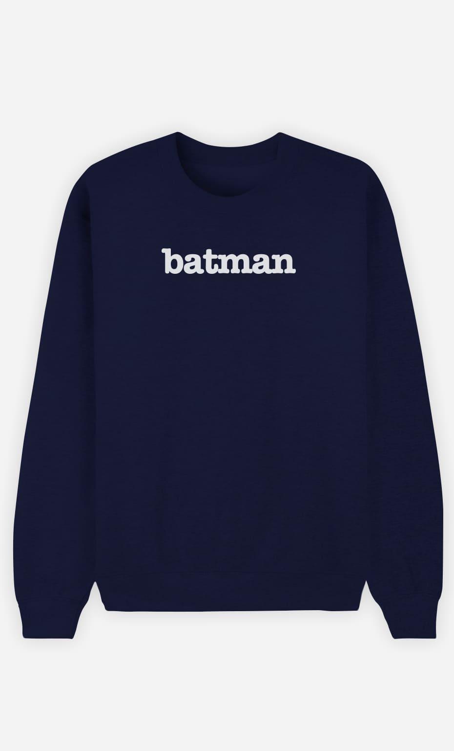 Sweat Bleu Batman