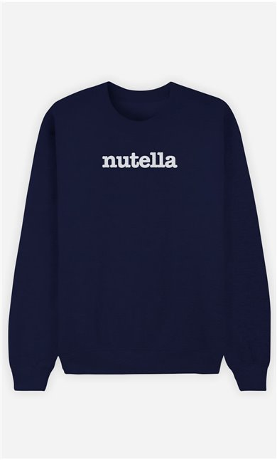 Sweat Bleu Nutella