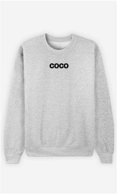 Sweat Gris Coco