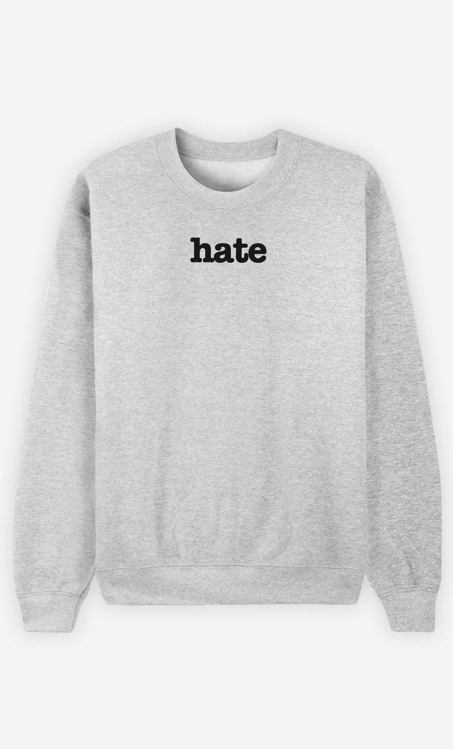 Sweat Gris Hate