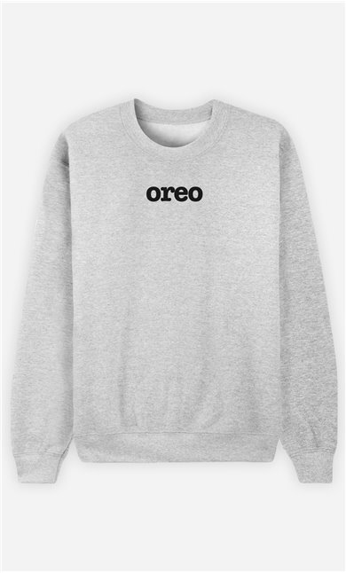 Sweat Gris Oreo