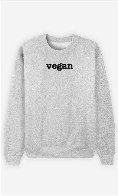 Sweat Gris Vegan