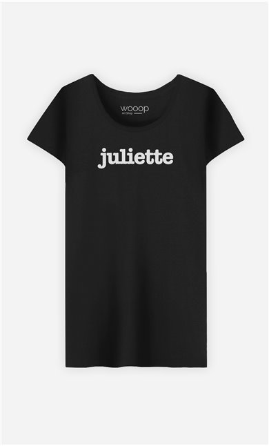 T-Shirt Noir Juliette