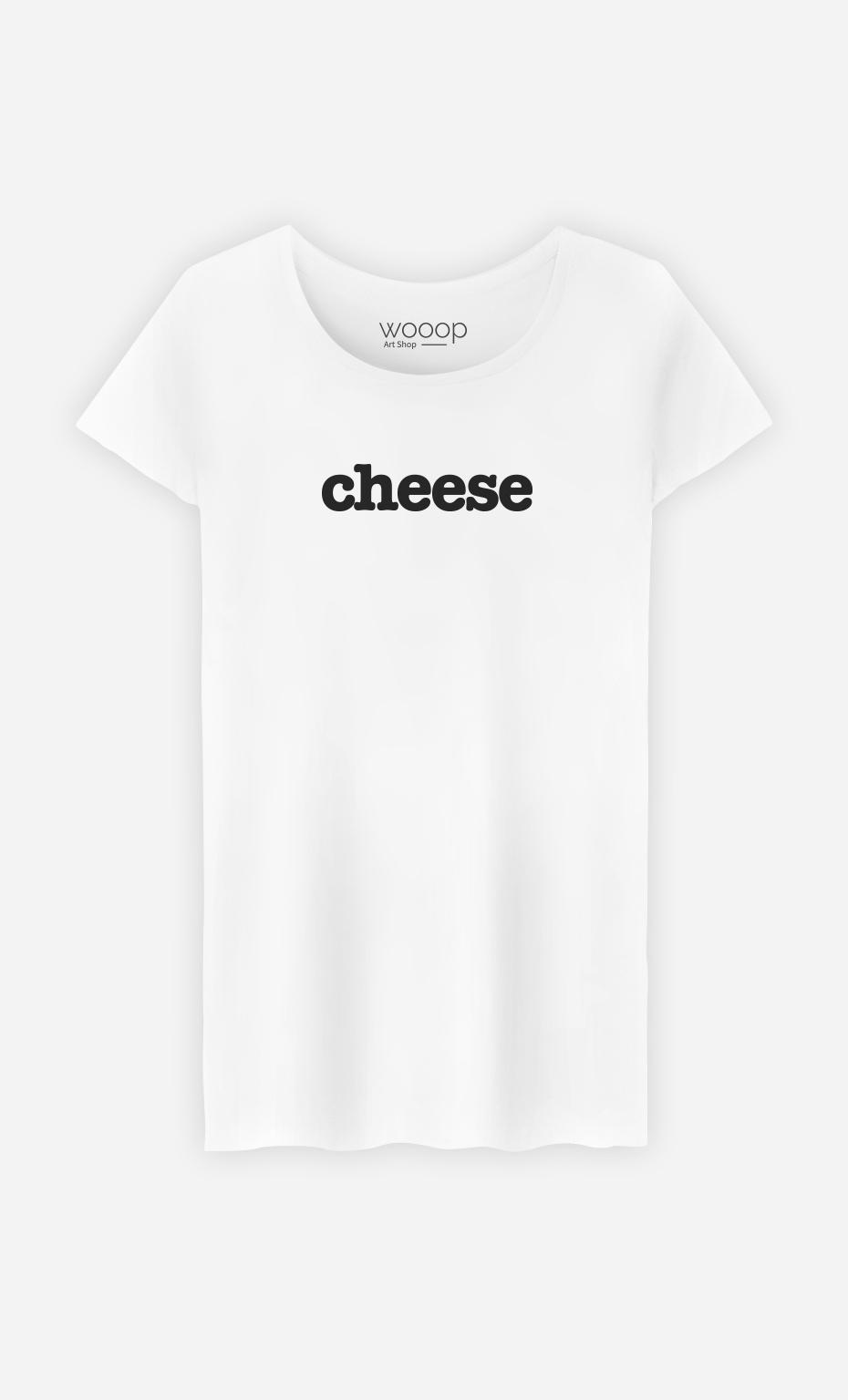 T-Shirt Blanc Cheese