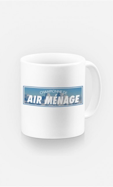 Mug Championne de Air Ménage