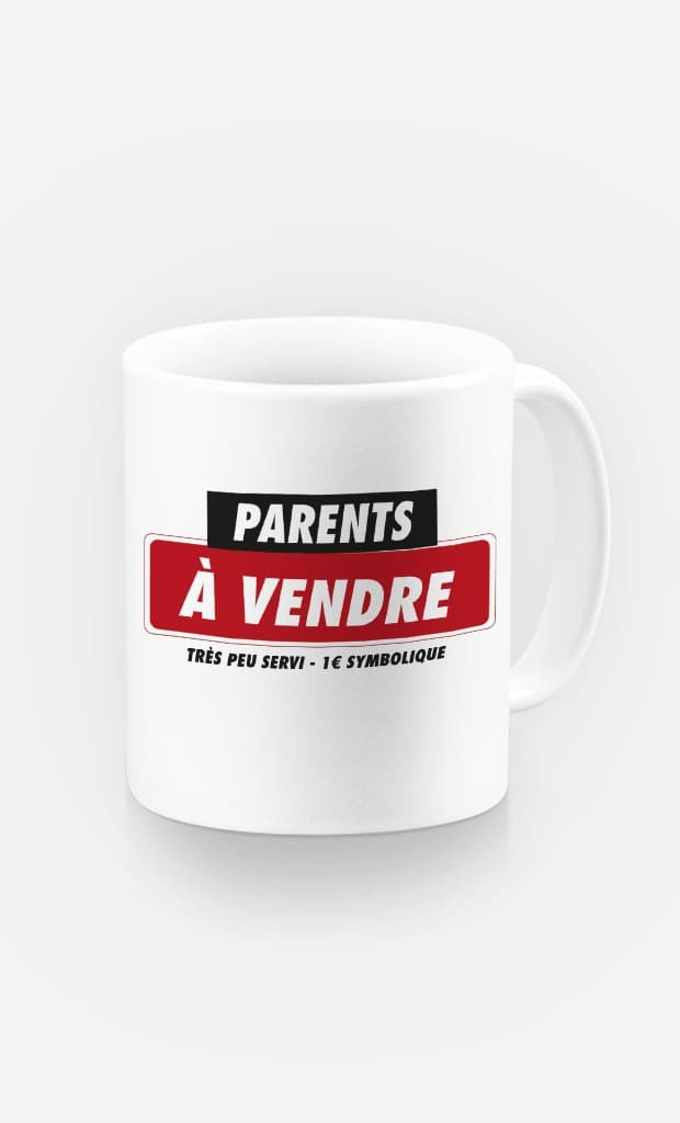 Mug Parents à Vendre
