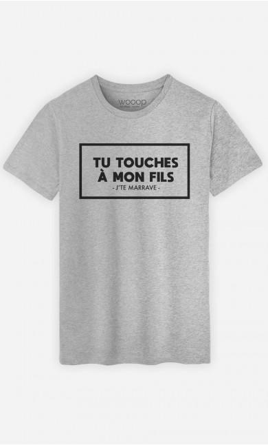 T-Shirt Homme Tu Touches à Mon Fils