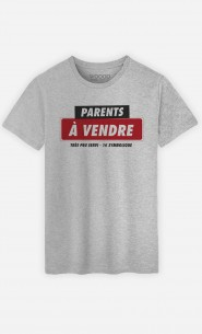 T-Shirt Homme Parents à Vendre