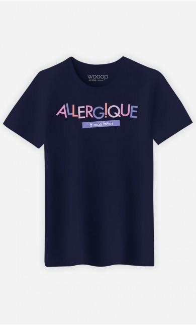 T-Shirt Homme Allergique à mon Frère