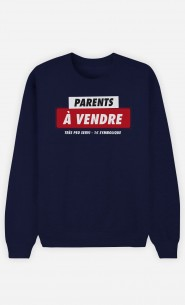 Sweat Homme Parents à Vendre