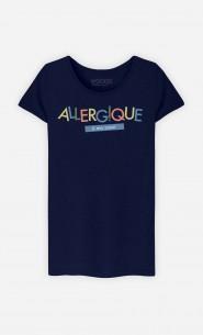 T-Shirt Femme Allergique à ma Sœur
