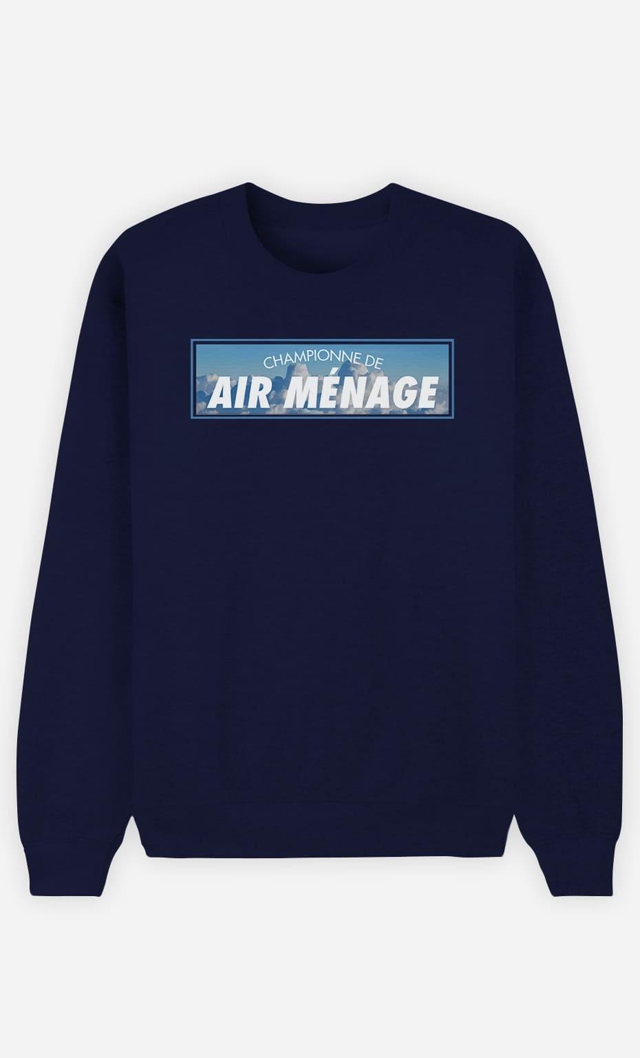 Sweat Femme Championne de Air Ménage