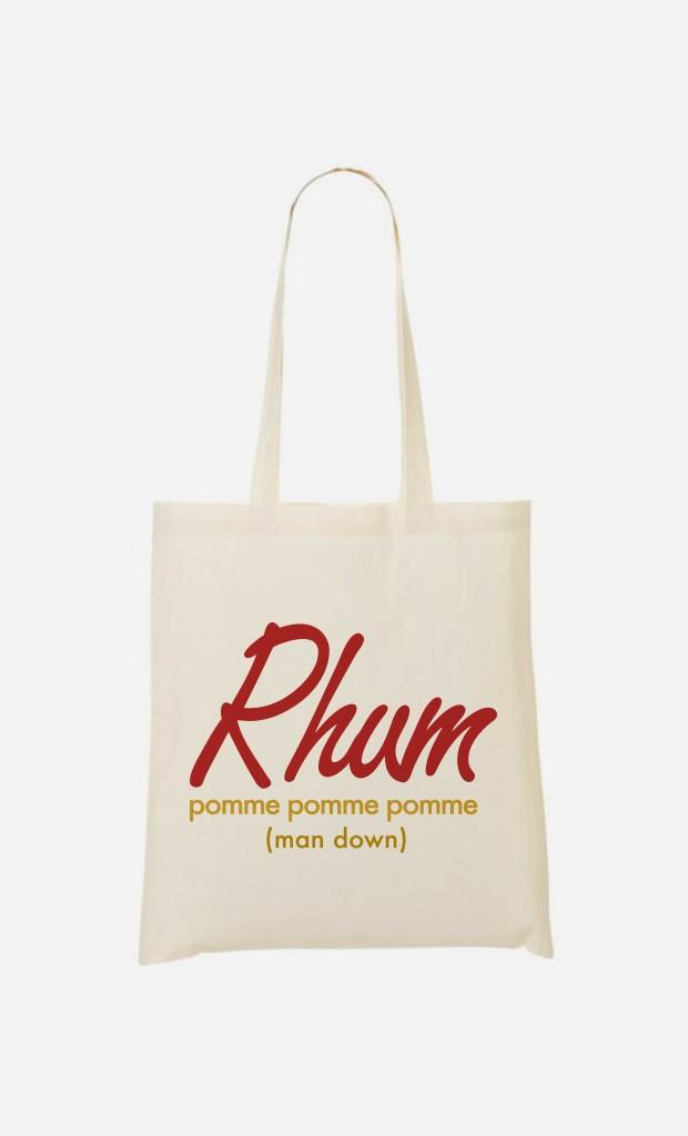 Tote Bag Rhum pom pom pom