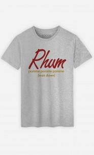 T-Shirt Homme Rhum pom pom pom