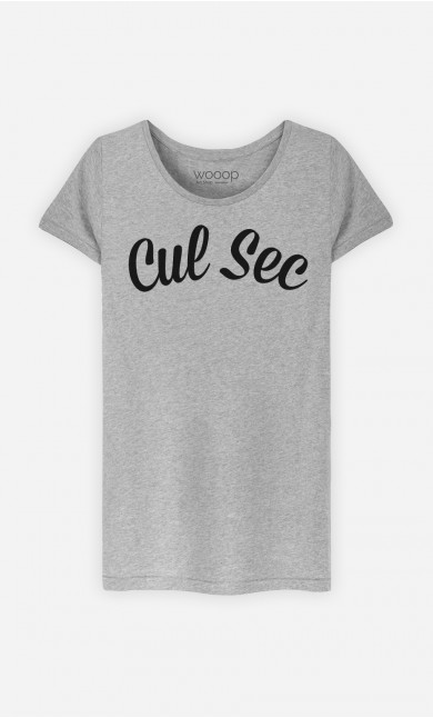 T-Shirt Femme Cul Sec