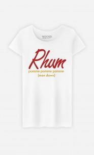 T-Shirt Femme Rhum pom pom pom