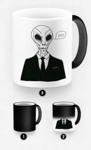 Mug Magique Alien