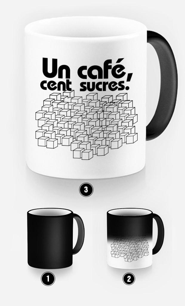 Mug Magique Un Café Cent Sucres
