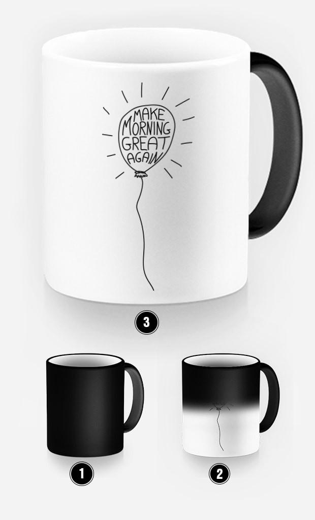 Mug Magique Make Morning Great Again