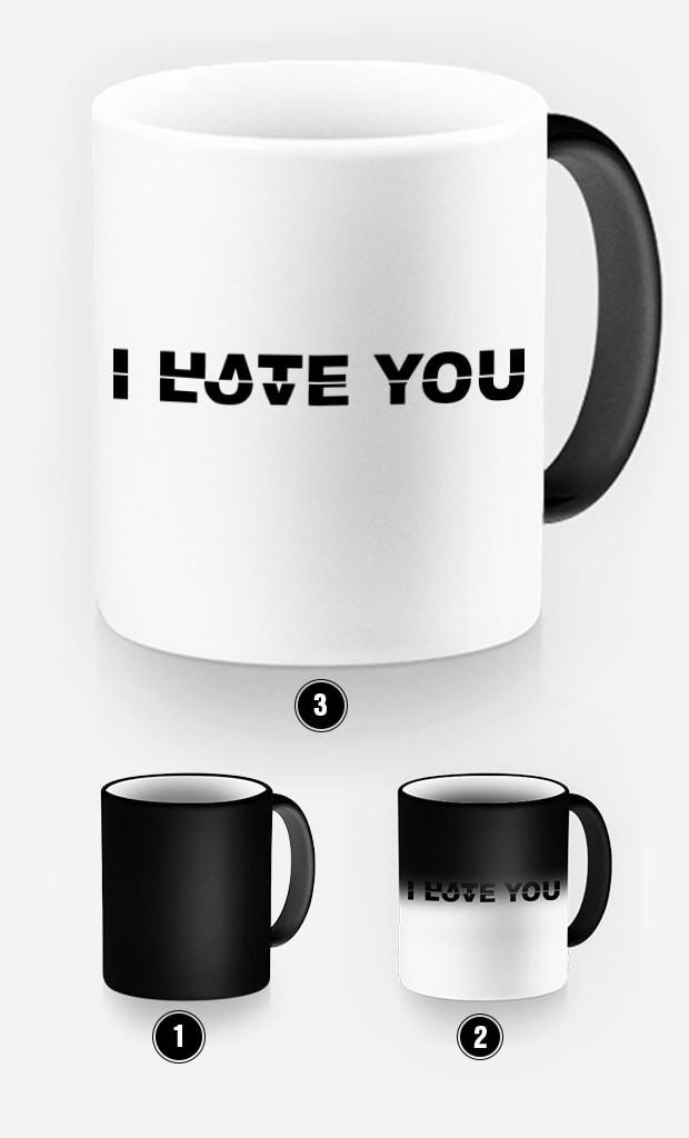Mug Magique Love Hate