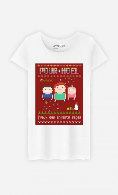 ae83a55d045e4 T-Shirts Blancs pour Femmes - T-Shirts doux et de qualité - Wooop.fr ...