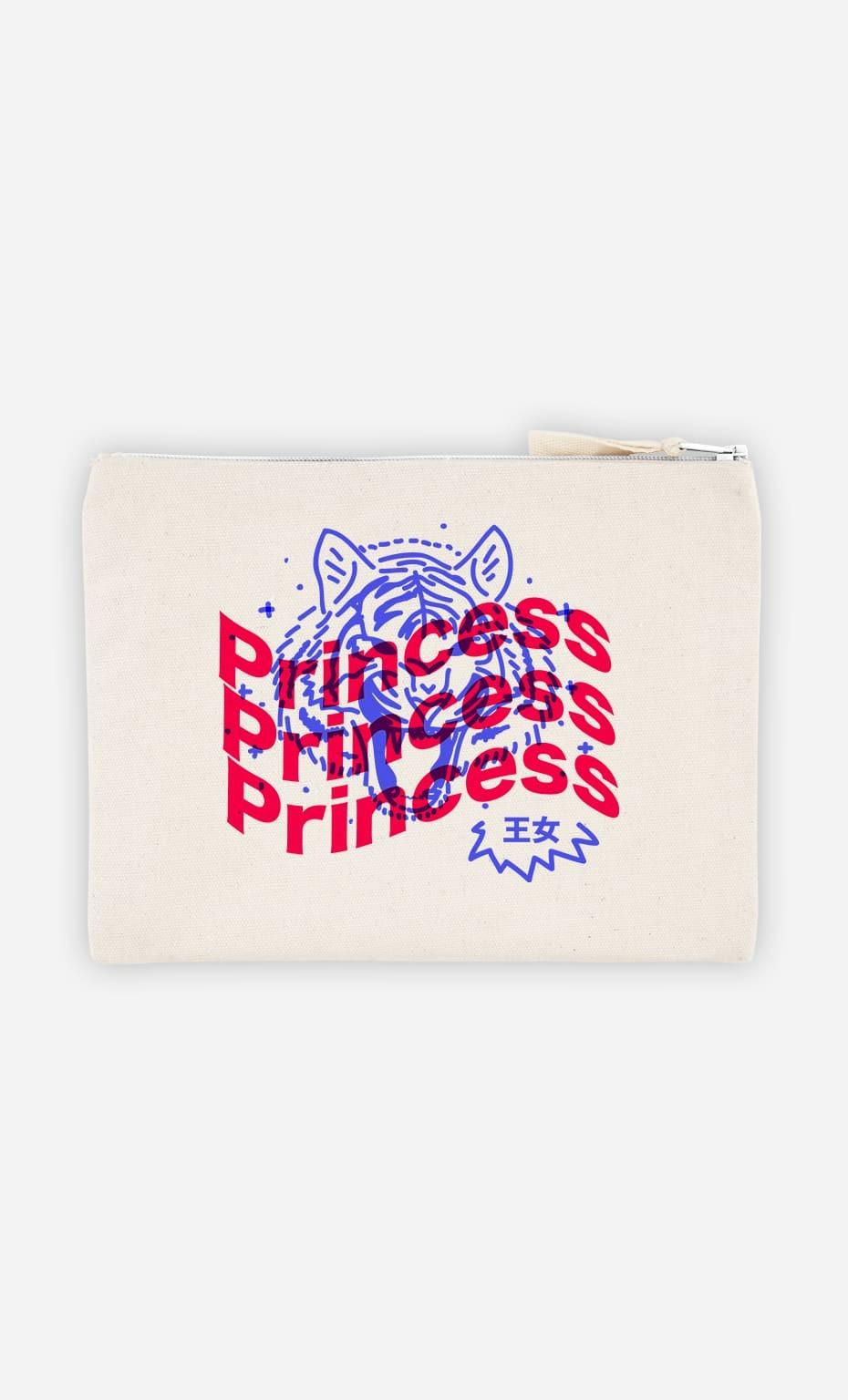 Pochette Princess - Bleu