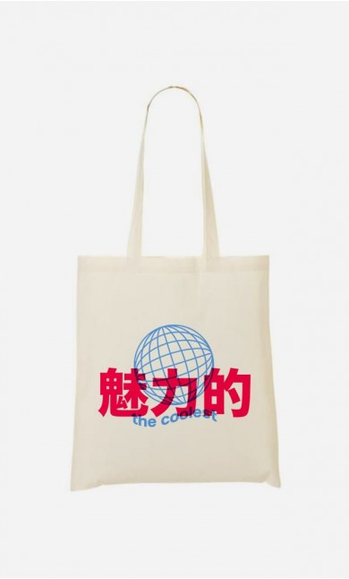 Tote Bag The Coolest - Bleu