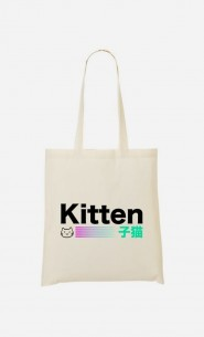 Tote Bag Kitten