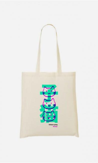 Tote Bag Kittens Gang Wooop