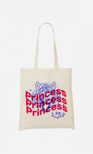 Tote Bag Princess - Bleu