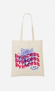Tote Bag Princess - Bleu