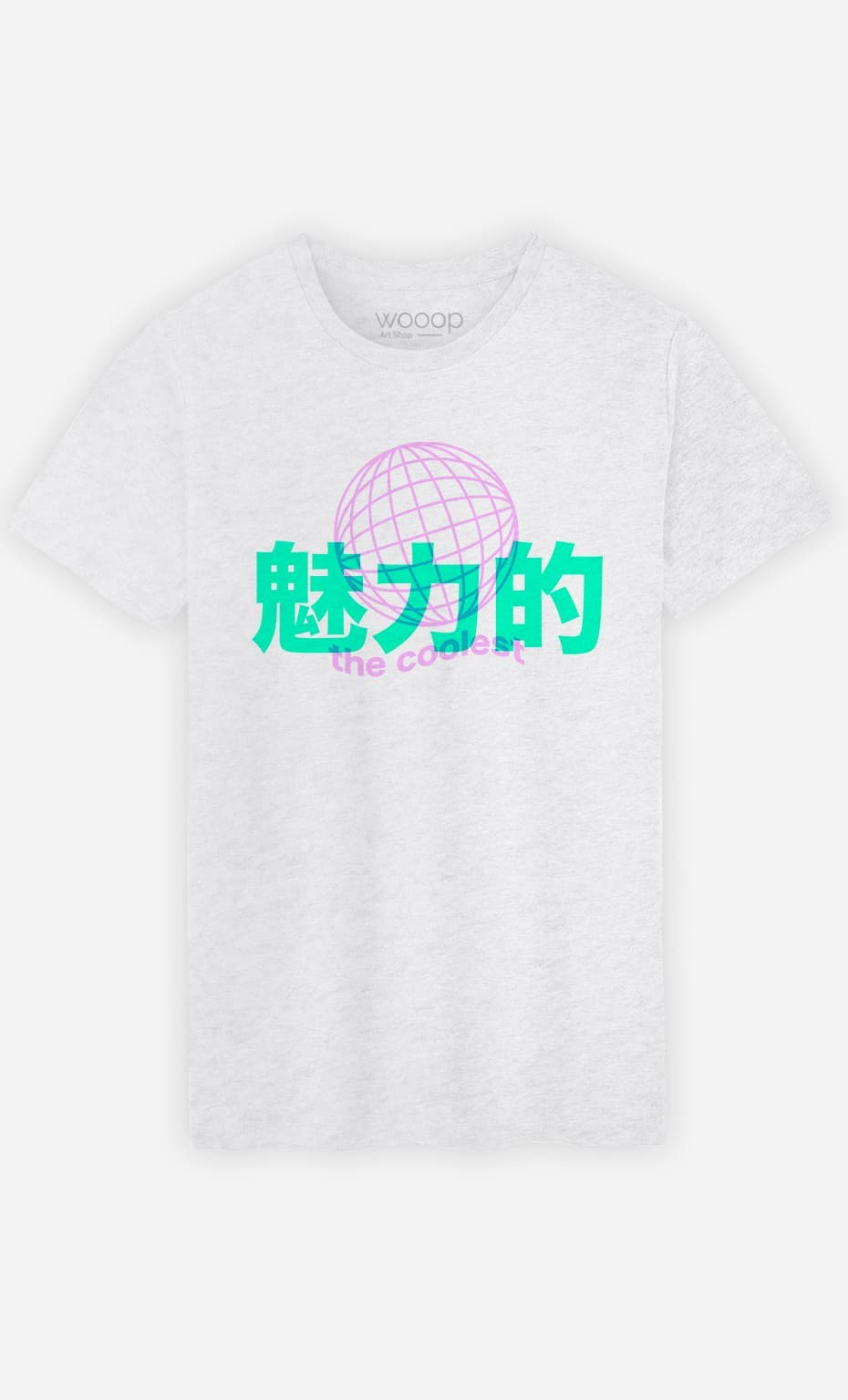T-Shirt Homme The Coolest - Rose