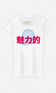 T-Shirt Femme The Coolest - Bleu