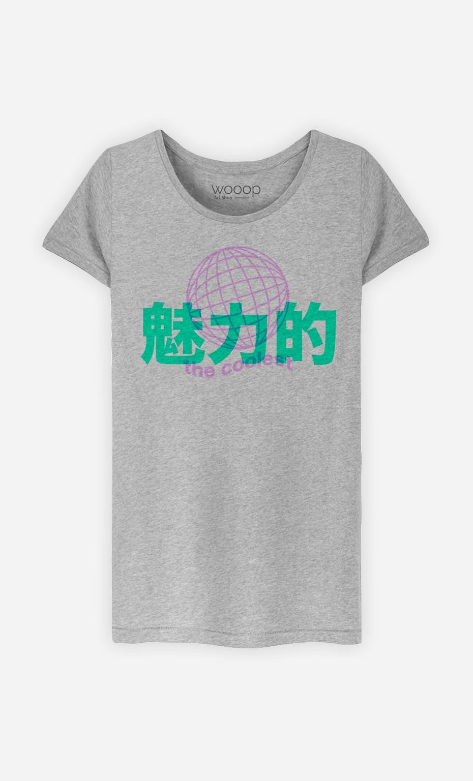 T-Shirt Femme The Coolest - Rose