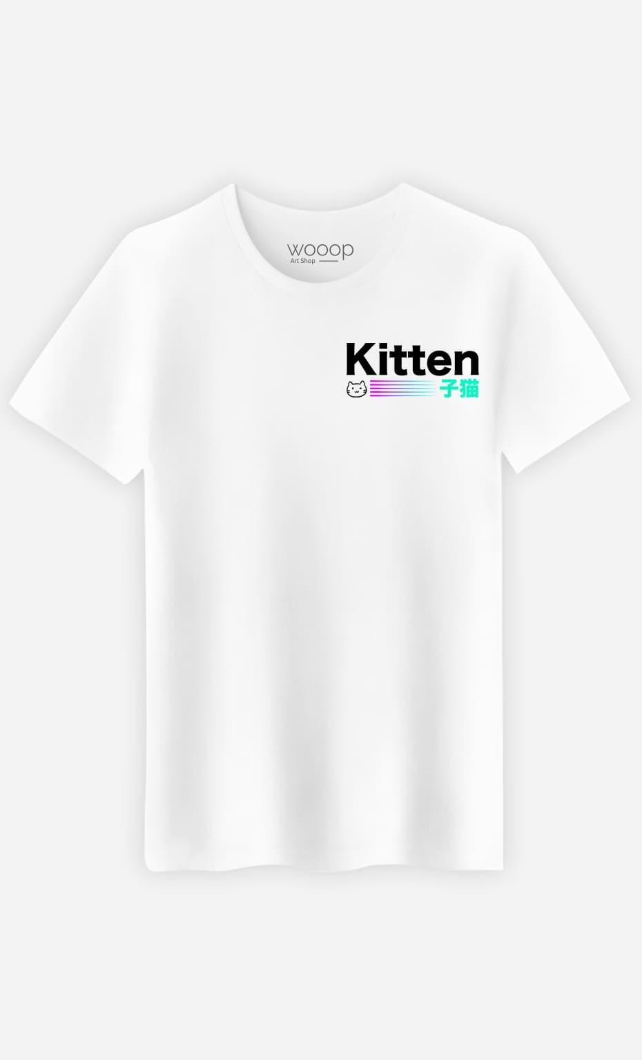 T-Shirt Homme Kitten