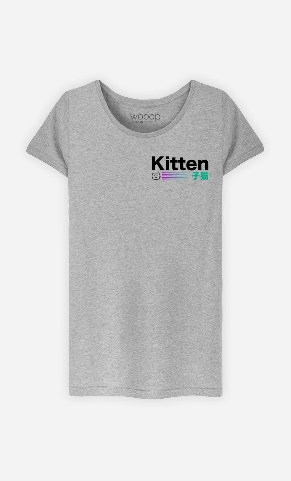 T-Shirt Femme Kitten