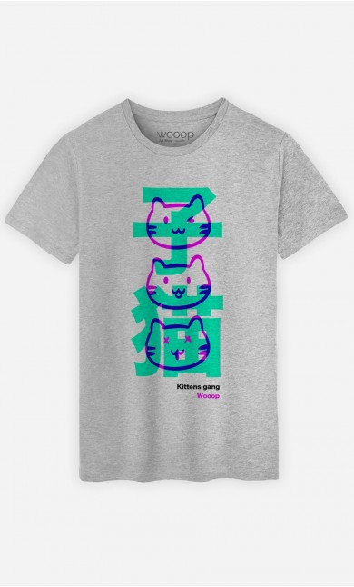 T-Shirt Homme Kittens Gang Wooop