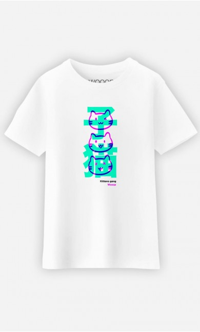 T-Shirt Enfant Kittens Gang Wooop