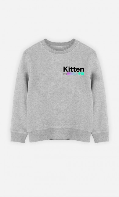 Sweat Enfant Kitten