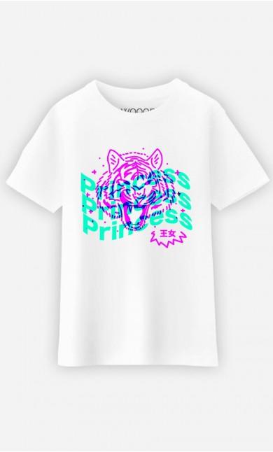 T-Shirt Enfant Princess - Rose