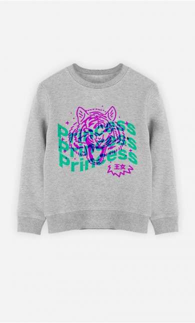 Sweat Enfant Princess - Rose