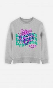Sweat Enfant Princess - Rose