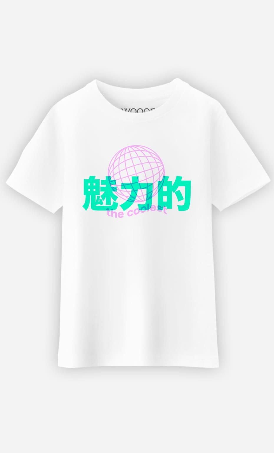 T-Shirt Enfant The Coolest - Rose