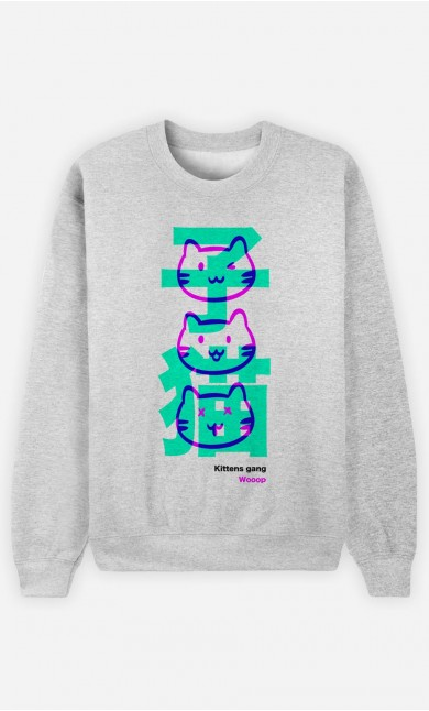 Sweat Homme Kittens Gang Wooop