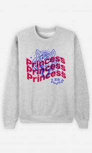 Sweat Femme Princess - Bleu