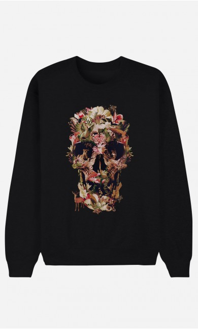 Sweat noir Jungle Skull