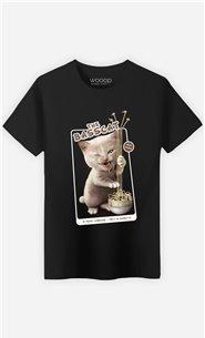 T-Shirt Noir Homme Basscat